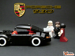 Porsche 930 (the p***y magnet) (ZetoVince) Tags: car greek lego 911 pussy vince turbo porsche vehicle minifig magnet 930 blackrims zeto zetovince dreamdealer