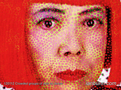 Yayoi Kusama the 82 year old Japanese conceptual artist renowned for her obsessive repetition of dots and patterns has a major solo exhibition titled Look Now, See Forever at the Queensland GOMA. One of the pieces titled The obliteration room 2011, is a (Ian Bunn) Tags: japanese patterns digitalart goma polkadots popart queensland dots digitalmanipulation yayoikusama soloexhibition photoshopmanipulations looknow seeforever contemporaryculture conceptualartist interactiveproject digitalphotomanipulation artinfo popularculturearts iconicevents theobliterationroom2011 obsessiverepetition