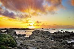 Sunset off the Monterey Coast (Darvin Atkeson) Tags: ocean california statepark sunset seascape beach nature clouds landscape monterey seaside nikon photographer pacific rocky reserve montereybay shore carmel beaches pebblebeach pacificgrove pointpinos d300 darvin 1755mm atkeson darv liquidmoonlightcom