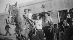 Corriganville, 1958 (jericl cat) Tags: ranch horse mike movie cowboy ray crash western 1958 themepark ventura simi pati corrigan corriganville