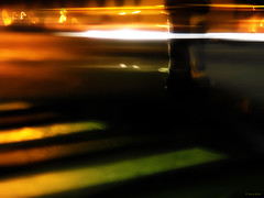 'Round Midnight 01 (JiPO) Tags: paris seine architecture train photoshop portable sony voiture saturation avenue rue numrique quai couleur ville flou immeuble fantme trottoir fleuve balade contrastes filtre retouche tlphone impasse piton alatoire