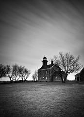 Old Field (MDanielsonPhoto) Tags: longexposure blackandwhite lighthouse ny longisland le nautical oldfield oldfieldlighthouse