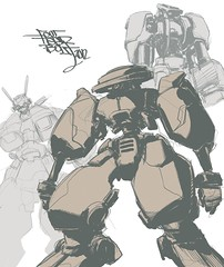 "Gundam_14 (""14BOLT"") Tags: robots 14bolt"