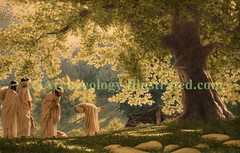 Abraham and the Three Angels - Biblical Scenes by Balage Balogh (archaeology illustrated) Tags: archaeology ancient christian bible babylon mesopotamia biblicalscenes christianimages biblicalimages sermonillustrations biblicalpictures christianillustrations biblicalillustration balagebalogh