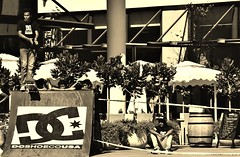 Waiting For The Drop. (thebastardchild) Tags: art film sport sepia 35mm vintage shopping fun island dc cool lomo lomography nikon freestyle paradise arty skateboarding action skating shoppingcentre competition hobby oldschool retro 35mmfilm selftaught skate passion tropical tropicalisland skateboard analogue mauritius sporting amateur grandbay sepiatone comp patience f90x nikonf90x dcshoecousa grandbaie actionsport amateurphotographer lacroisette amateurphoto amateurphotography skateboardcompetition filmphotogrpahy 35mmfilmphotography amateurfilmphotography amateur35mmfilmphotography amateurfilmphoto amateurfilmphotograph amateurfilmphotographer