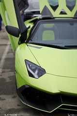 Lines. (Reid Elattrache) Tags: verde green cars coffee vertical pittsburgh fast exotic ithaca 50th 50 700 lamborghini rare cnc exotics lambo 720 7204 carsandcoffee aventador lp7204 pghcnc