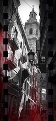 santa caterina (J. Fernando) Tags: red urban bw art blancoynegro valencia rojo arquitectura nikon arte churches iglesias baroque barroco 2014 valncia roig