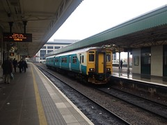 Arriva Trains Wales - Class 150 - 150280 (MadAboutTrains) Tags: wales diesel central cardiff trains class 150 multiple unit arriva sprinter dmu