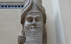 Winged bull from the palace of Sargon II at Khorsabad, 713 - 706 BCE (7) (Prof. Mortel) Tags: paris france louvre iraq mesopotamia assyrian sargonii khorsabad