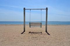 Beautiful Day. (DigitalCanvas72) Tags: ocean sea shells color nature water barn seashells point sand chair rocks sunny down run longisland orient 24mm28d nikkor24mm28d nikond7000 orientbeachny
