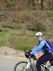 Joseph Creek Ride Spring 2014 (Doug Goodenough) Tags: jen scott bicycle bike ride gravel grinder canyon spring 2014 pedals spokes drg53114p drg531p drg53114pjt drg531