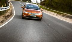 Honda on the Ride (Etti.Nekov) Tags: road car canon honda drive ride civic f28 1755 khimki 550d