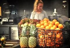 Smoothie Stand (sfPhotocraft) Tags: copenhagen denmark fruitstand smoothies freshfruit 2016