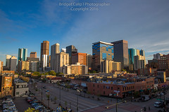 Denver Skyline from lower downtown in the springtime (Bridget Calip - Alluring Images) Tags: morning travel sunset skyline architecture sunrise buildings evening colorado cityscape exterior skyscrapers outdoor dusk denver crime rockymountains blueskies civiccenter allrightsreserved metalandglass queencity copyrighted greentrees 2016 denverbroncos capitalcity capitalcities dramaticclouds highclouds denvercityandcountybuilding milehighcity denverskyline downtowndistrict buildingcomplex vacationdestination cityclouds batmanshooting capitalofcolorado centennialstate lowerdowntowndenver queencityoftheplains bridgetcalip alluringimages marijuanalegal milehicity alluringimagesllc 5280abovesealevel
