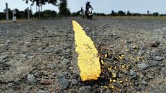 yellow road stripe (Matt Jones (Krasang)) Tags: road yellow stitch stripe motorbike graduated density neutral cokin hugin 12mmzuikof20 olympusomdem5