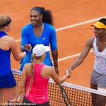 Serena Williams, Venus Williams, Jelena Ostapenko, Yulia Putintseva