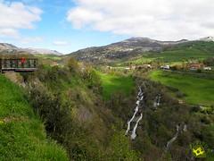 Mirador de las Cascadas del Ro Gndara (Senditur) Tags: las parque en familia del ro de los natural nios soba turismo con mirador cantabria rutas cascadas asn collados gndara adaptadas senditur