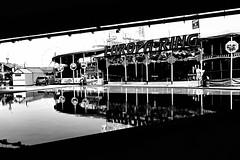 (formwandlah) Tags: city light shadow urban bw white abstract black reflection strange contrast dark blackwhite high noir shadows gloomy darkness pentax sony surreal ii mysterious sw 100 monochrom worms rhein sureal schatten spiegelung rx abstrakt puppen thorsten prinz melancholic bizarr skurril einfarbig mysteris melancholisch formwandlah