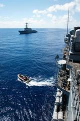 160508-N-EH218-037 (U.S. Pacific Fleet) Tags: ocean usa pacific mob pacificocean cruiser underway deployment 2016 ussmobilebay cg53 7thfleet