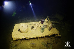 Truk Scuba Diving 2016, Shinkoku Maru, operating table and various artifacts in medical WM (divemasterking2000) Tags: ocean travel lost photography japanese divers travels war king ship underwater pacific wwii dive traces scuba diving lagoon adventure shipwreck scubadiving fsm diver states truk adventures sunken sunk wreck scubadive artifacts tanker warship maru micronesia federated underwaterphotography 2016 chuuk battlesite wreckdive wreckdiving truklagoon tracesofwar shinkokumaru japaneseship shinkoku kaptures wreckdives kingkaptures kingkapturesphotography