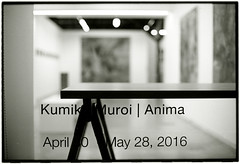 Tokyo Art scene (Tamakorox) Tags: light shadow bw art film japan canon painting japanese tokyo fuji kodak f1 exhibition artists painter tmax400 analoguecamera
