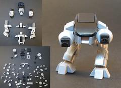 ED-209 4 U (Grantmasters) Tags: lego remix robocop ed209 ocp moc