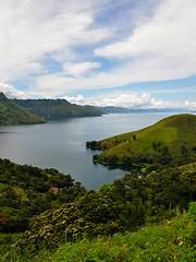 Tongging - Lake Toba (Drriss & Marrionn) Tags: travel nature sumatra indonesia landscape rainforest southeastasia jungle tropics laketoba volcaniclake natureplus tongging