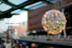 Holiday Season, Rotterdam. (Tuanneke) Tags: christmas holiday 35mm season lights rotterdam 14 centrum beurs koopgoot 35l