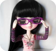 Tangkou Nerd! (Lois Wayne) Tags: nerd glasses outfit doll barbie dal pullip tang kou tangkou