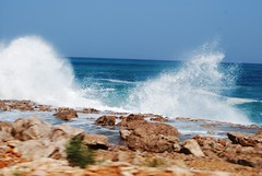 Arabian Sea waves (Gerry & Bonni) Tags: island waves yemen arabiansea socotra watr soqotra