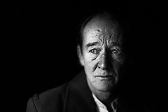 David Hayman (TGKW) Tags: light portrait people blackandwhite man david window king natural theatre expression glasgow scottish actor hayman citizens lear 4018