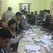 Ahmed Mahran with supporters supervising dispatches to voters Assiut - Egypt.