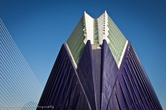 L'Àgora y El Puente de l'Assut de l'Or (viwehei) Tags: flickrduel