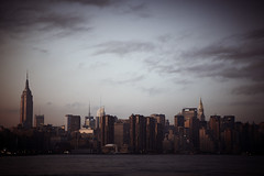 _MG_9903 2 (monkeytown73) Tags: newyorkcity sunset urban newyork buildings cityscape power empirestatebuilding strength chryslerbuilding iconic bigcity buildingstructure