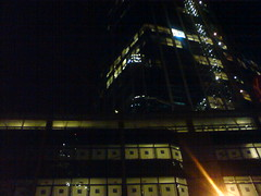 99 Bishopsgate London EC2, at night, 2011-12-01, 23-01-50 (tributory) Tags: city building london architecture office district space central financial squaremile