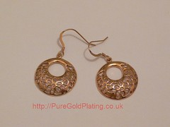Rose Gold Plated Earrings (PureGoldPlating) Tags: rosegoldearrings rosegoldplated rosegoldplating
