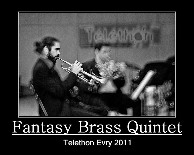 Evry Daily Photo - TELETHON Evry 2011 - Concert Fantasy Brass Quintet 2