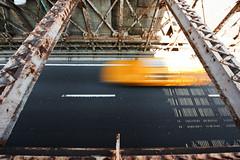 Brooklyn Bridge NYC Taxi