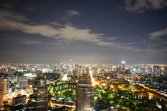 Bangkok Nights (Thailand) (thomsen77) Tags: city travel urban panorama night thailand photography photo asia flickr bangkok sony capital panoramic fromabove citylights traveling atnight nightvision birdseye urbanlandscape bangkokatnight totallythailand nex3 sonynex3