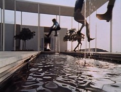 Monkees jumping L.A. fountain - where is this building? (ouno design) Tags: california music fountain television movie la losangeles tv screenshot still jumping boots modernism beatles sequence monkees mods tvstills craigellwood edkillingsworth
