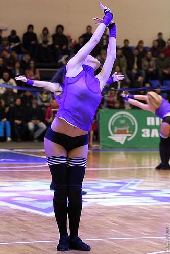 Superleague All-Star Game 2011 Cheerleaders ©  Aleksandr Osipov