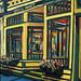 Green's Market, oil on canvas. Artist: Nancy Brossard