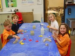 DSCN2785 (HMJDS Lions) Tags: art kindergarten hanukkah hanukkiah