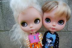 My two girls: Jinx & Iluska <3