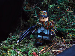 Field Commander ([N]atsty) Tags: field grass cat real soldier army war lego bionic awesome camo mc ba minifig custom trade epic commander minifigure brickarms minifigcat