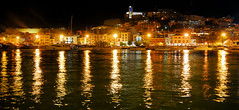 Ibiza (Eivissa) (Cervusvir) Tags: espaa beach spain playa ibiza eivissa spanien balears mittelmeer islas vila mar mediterraneo baleares dalt