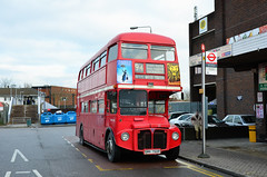 RML2750 on route 94 (John A King) Tags: bus day running explore routemaster preserved bromley route94 pettswood rml2750