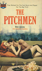 Monarch Books 358 - Don James - The Pitchmen (swallace99) Tags: vintage 60s paperback monarch pulp sleaze homosexuality