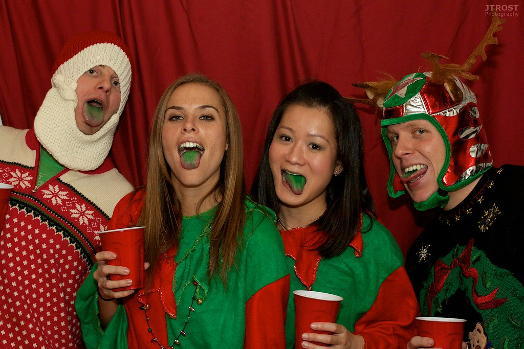 2011 Grinch Party Photo Booth