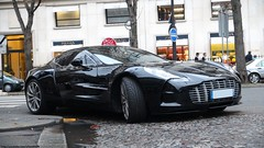 Uno siete siete (alexsmolik) Tags: auto plaza paris cars car 1 automobile martin automotive uno vehicle avenue 77 rare exclusive supercar aston astonmartin siete jamesbond supercars montaigne britishcars avenuemontaigne rarecar one77 oneseventyseven astonmartinone77 alexsmolik rareastonmartin 1of77 raresupercars only77